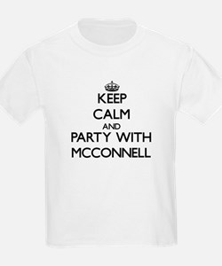 Keep calm and Party with Mcconnell T-Shirt