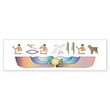 Boykin Hieroglyphs Bumper Bumper Sticker