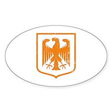 Strk3 German Eagle Oval Decal