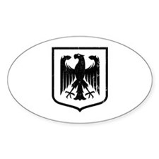Strk3 German Eagle Oval Decal