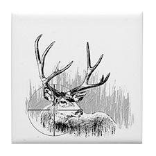 Deer Hunter Tile Coaster