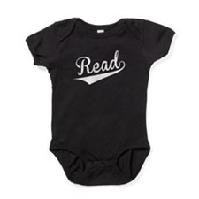 Read, Retro, Baby Bodysuit