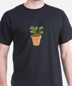 Venus Fly Trap Carnivorous Potted Plant T-Shirt
