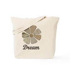 Dream Inspiration Flower Art Tote Bag