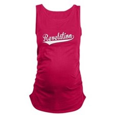Revelation, Retro, Maternity Tank Top