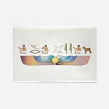 BRT Hieroglyphs Rectangle Magnet