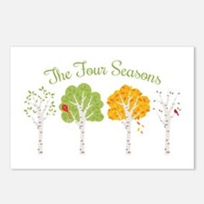 The Four Seasons Postcards (Package of 8)