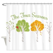 The Four Seasons Shower Curtain