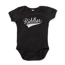 Riddles, Retro, Baby Bodysuit
