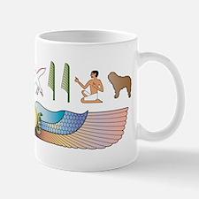 Bergamasco Hieroglyphs Small Small Mug