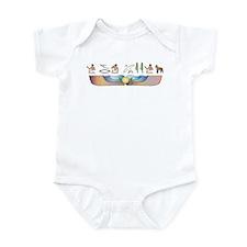 Laekenois Hieroglyphs Infant Bodysuit