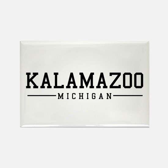 Kalamazoo, Michigan Rectangle Magnet