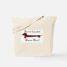 World's Greatest Dachshund Mom! Tote Bag