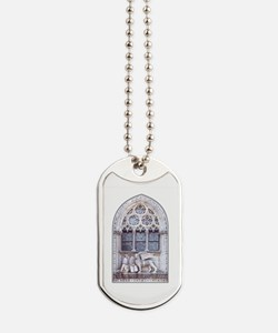 Venice San Marco Roman Cathedral Window Dog Tags