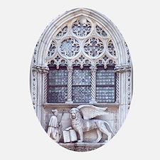 Venice San Marco Roman Cathedral Win Oval Ornament