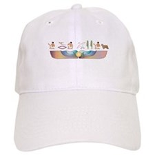 Collie Hieroglyphs Baseball Cap