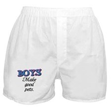 Boys make good pets! Boxer Shorts