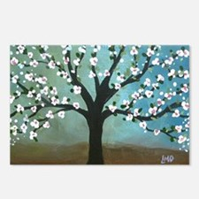 Cherry Blossom Tree Postcards (Package of 8)