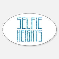 Selfie Heights Decal