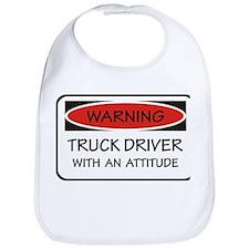 Attitude Truck Driver Bib