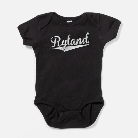 Ryland, Retro, Baby Bodysuit
