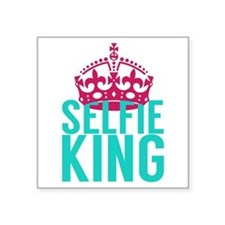 Selfie King Sticker