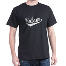 Salem, Retro, T-Shirt