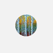 Aspen Trees Mini Button