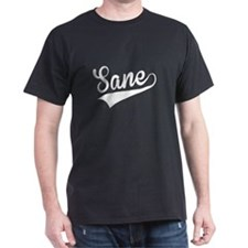 Sane, Retro, T-Shirt