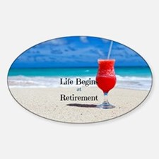 Retirement Sticker (Oval)