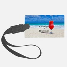 Retirement Luggage Tag