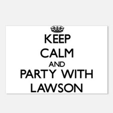 Keep calm and Party with Lawson Postcards (Package