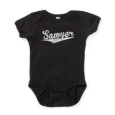 Sawyer, Retro, Baby Bodysuit