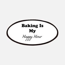 Baking Is My Happy Hour Patch