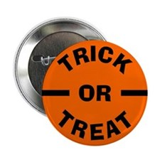 Halloween: Trick or Treat Button