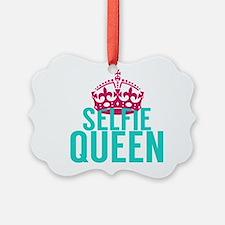 Selfie Queen Ornament
