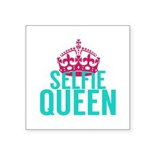 Selfie Queen Sticker