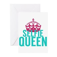 Selfie Queen Greeting Cards