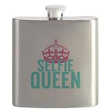 Selfie Queen Flask