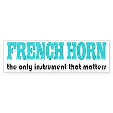 French Horn Bumper Bumper Sticker