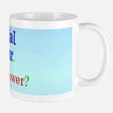 Social Worker with Super Power Mug