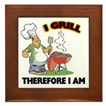 I Grill Framed Tile