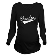 Shandon, Retro, Long Sleeve Maternity T-Shirt