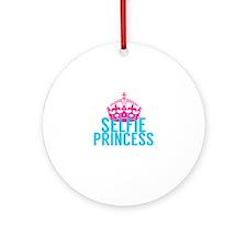 Selfie Princess Ornament (Round)