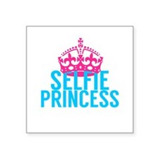 Selfie Princess Sticker