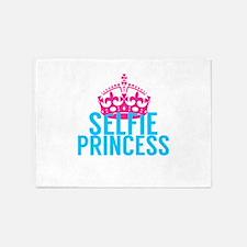 Selfie Princess 5'x7'Area Rug