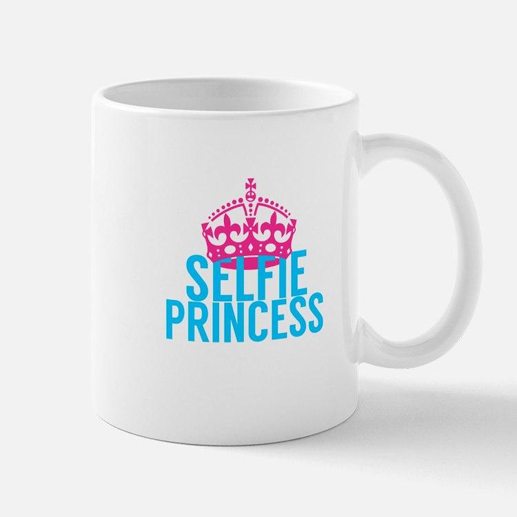 Selfie Princess Mugs