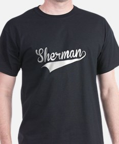 Sherman, Retro, T-Shirt