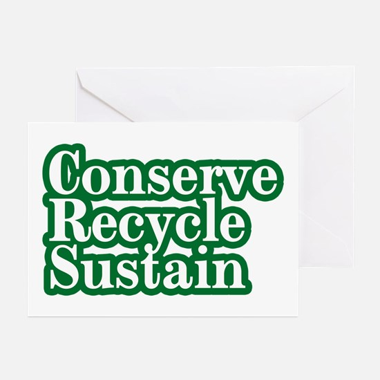 Conserve Greeting Cards (Pk of 10)