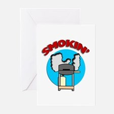 Smokin' Barbecue Greeting Cards (Pk of 10)